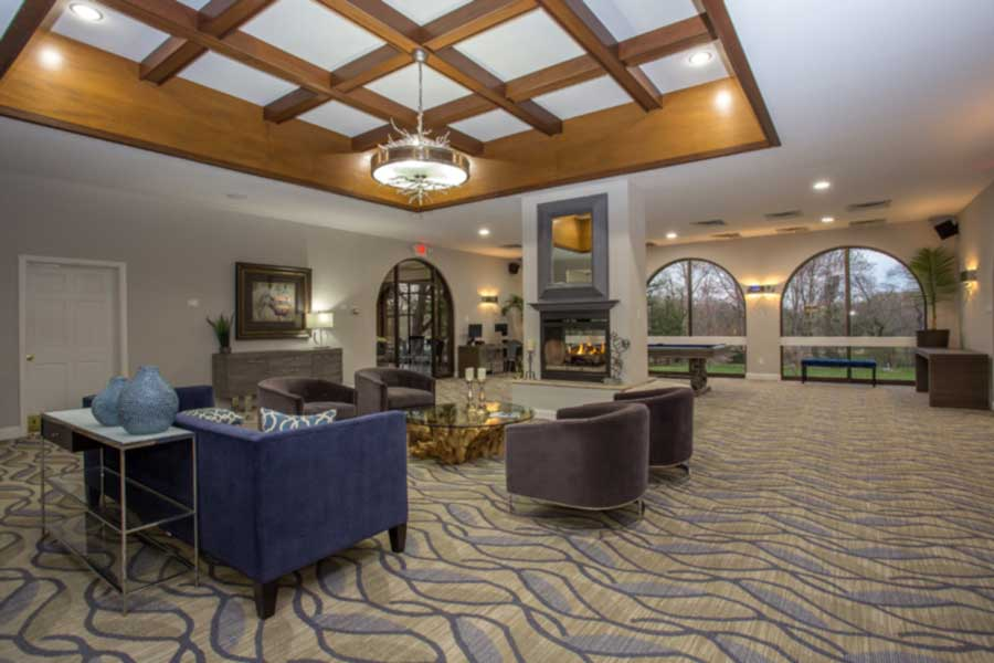 Meadowbrook Apartment Homes clubhouse