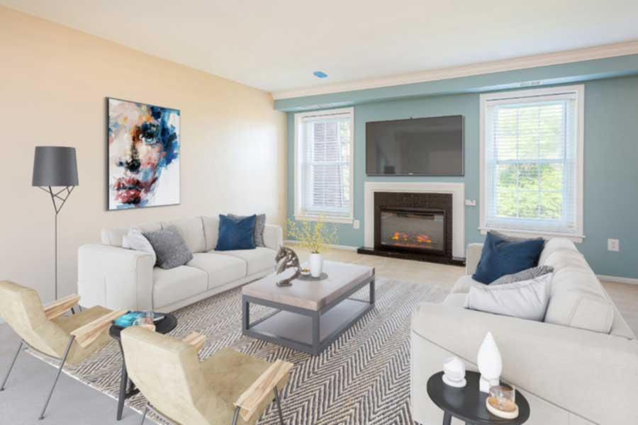 Meadowbrook Apartment Homes apartment interior living room